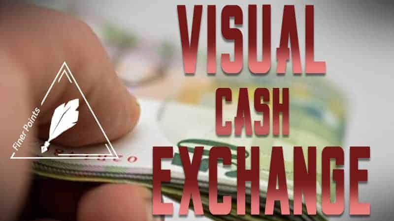 Live Lecture: The Visual Cash Exchange