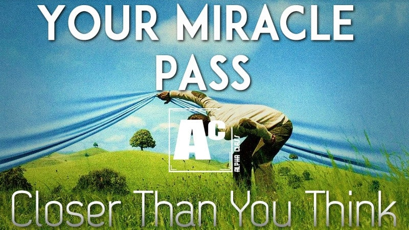 Live Lecture: Your Miracle Pass: Closer Than You Think