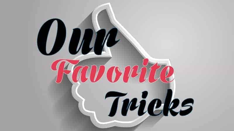Live Lecture: Our Favorite Tricks – August 2017