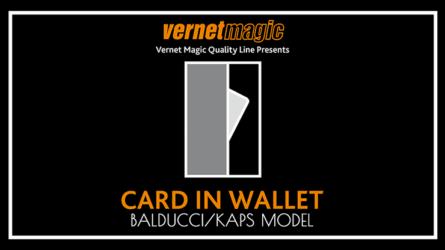 Card in Wallet (Balducci/Kaps) by Vernet