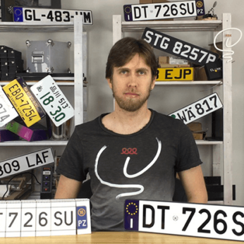 LICENSE PLATE PREDICT (Gimmicks and Online Instructions) by Martin Andersen - Trick