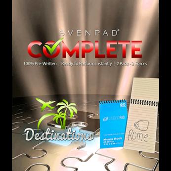 SvenPad® Complete Destinations
