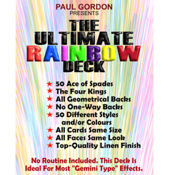 The Ultimate Rainbow Deck by Paul Gordon