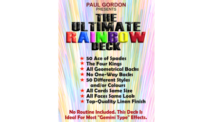 The Ultimate Rainbow Deck by Paul Gordon