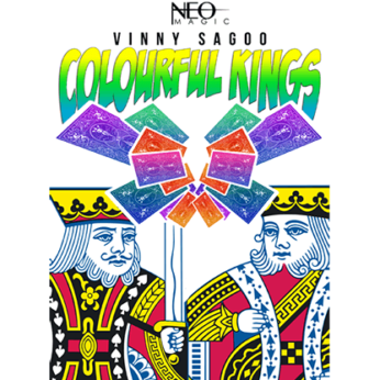 Colorful Kings (Gimmick and Online Instructions) by Vinny Sagoo