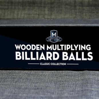 Wooden Billiard Balls by Classic Collections 1.75 white