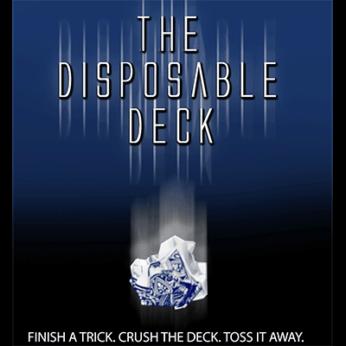 Disposable Deck 2.0 by David Regal - blue