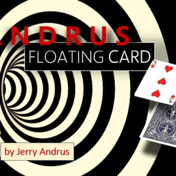 Andrus Floating Card Red by Jerry Andrus
