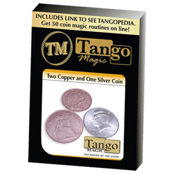 Two Copper and One Silver by Tango (D0063)