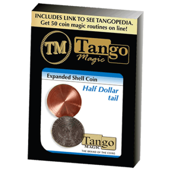 Expanded Shell Coin - Half Dollar (Tail)(D0002) by Tango