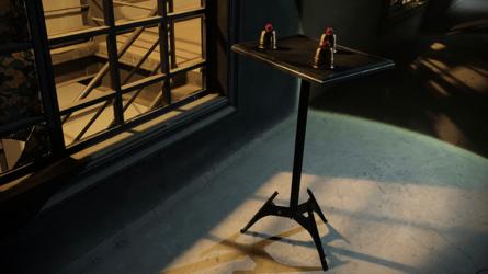 Scorpion Table (Close Up) by Tek Magic