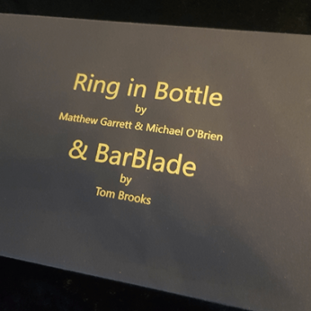 Ring in Bottle & BarBlade by Matthew Garrett & Brian Caswell