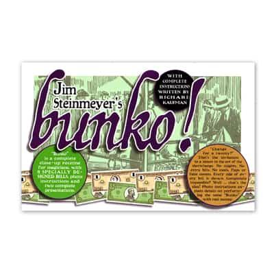 Bunko! by Jim Steinmeyer