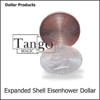 Expanded Eisenhower Dollar Shell (w/DVD)(D0009) by Tango
