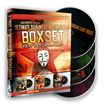 Ultimate Self Working Card Tricks Triple Volume Box Set by Big Blind Media - DVD