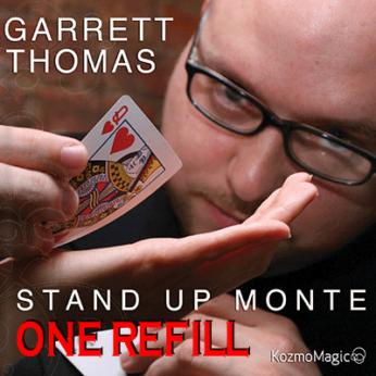 Refill for Stand Up Monte by Garrett Thomas & Kozmomagic