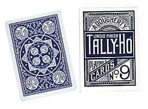 Cards Tally Ho Fan Back Poker size