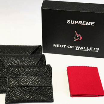 Supreme Nest of Wallets (AKA Nest of Wallets V2) by Nick Einhorn and Alan Wong