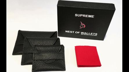 Supreme Nest of Wallets (AKA Nest of Wallets V2) by Nick Einhorn and Alan Wong