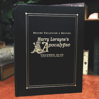 Apocalypse Deluxe 16-20 - #4 (Signed and Numbered) by Harry Loranye - Book