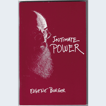 Intimate Power by Eugene Burger - Book