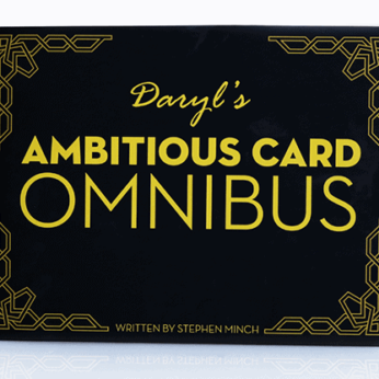 OMNIBUS focuses on the most popular card effect in the history of magic... The Ambitious Card.