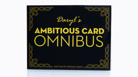 OMNIBUSfocuses on the most popular card effect in the history of magic... The Ambitious Card.