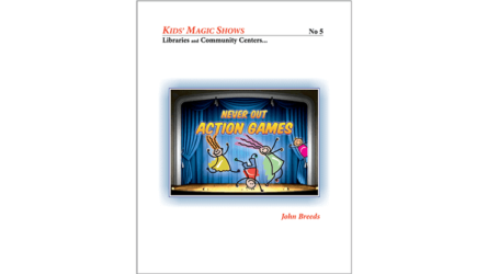 Never Out Action Games by John Breeds - Book
