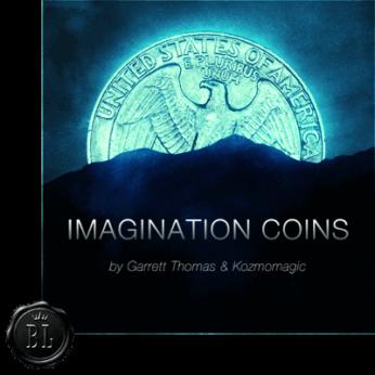Imagination Coins US Quarter by Garrett Thomas and Kozmomagic