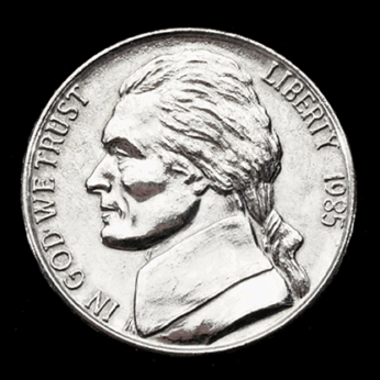 JUMBO 3 inch Nickel