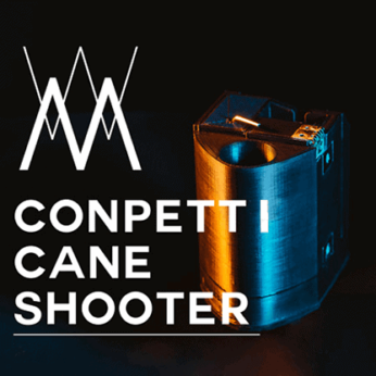 Confetti Cane Shooter (Wireless Remote) by Magician JiK