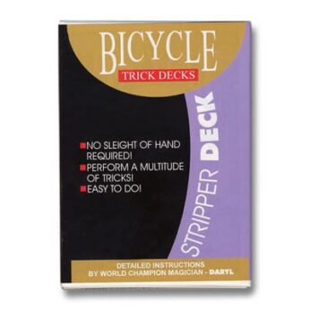 Stripper Deck Bicycle by US Playing Card