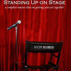 Standing Up On Stage