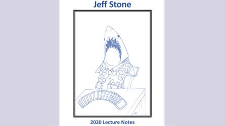 Jeff Stone's 2020 Lecture Notes by Jeff Stone - Book