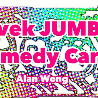 Tyvek Comedy Card Jumbo by Alan Wong