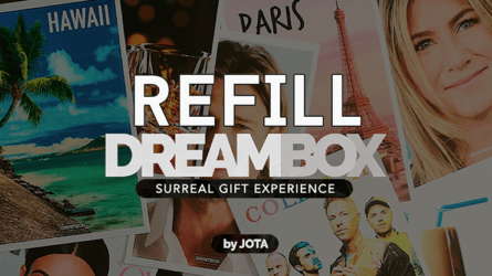 DREAM BOX GIVEAWAY REFILL by JOTA