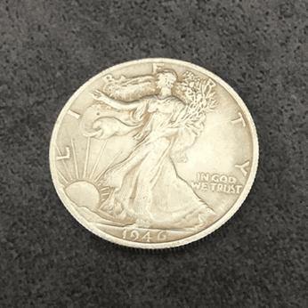 POWER COIN (Walking Liberty) by Himitsu Magic