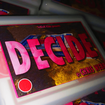 Decide RED/BLUE by Chris Webb