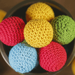 Crochet Ball Set by TCC