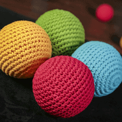 Final Load Crochet Ball by TCC