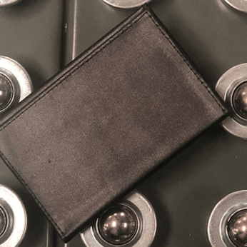 Z Fold Leather Wallet by Mark Mason