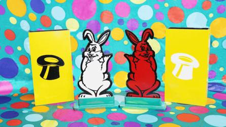"Hippity Hop Rabbits 12"" by Mr. Magic"