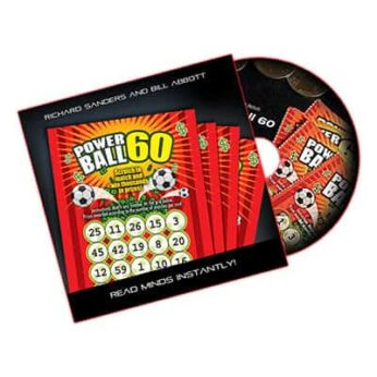 Powerball 60 (DVD, Gimmick, US Lotto) by Richard Sanders and Bill Abbott