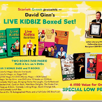 LIVE KIDBIZ BOXED SET by David Ginn - Book
