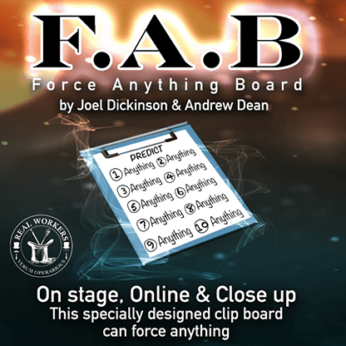 FAB BOARD by Joel Dickinson & Andrew Dean