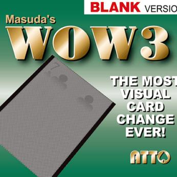 WOW 3.0 Blank by Masuda