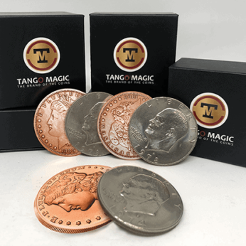 Copper Morgan Hopping Half by Tango Magic